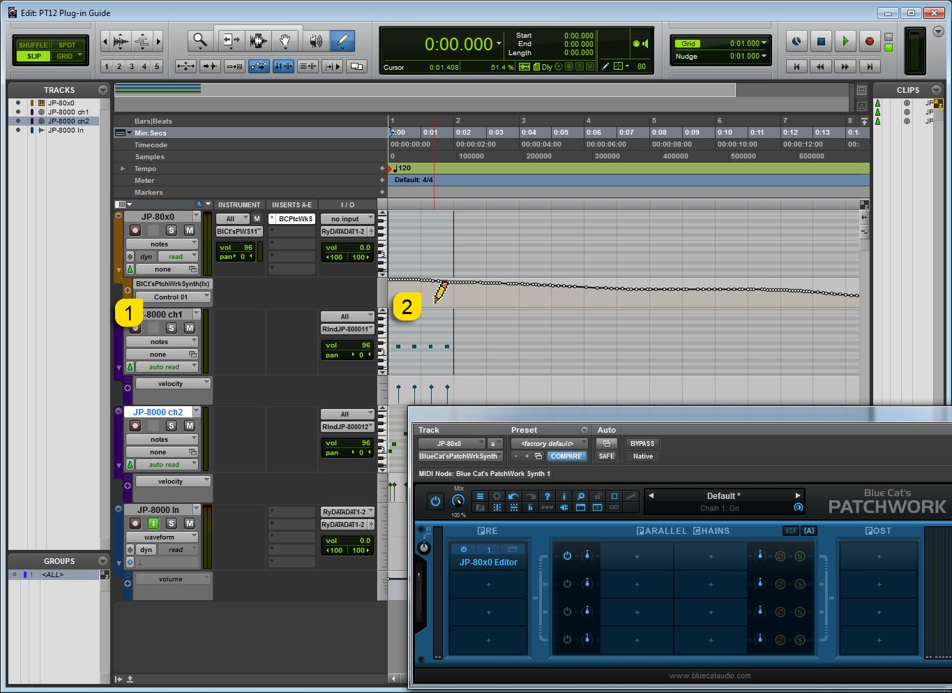 AVID Pro Tools Config - Start Automating!