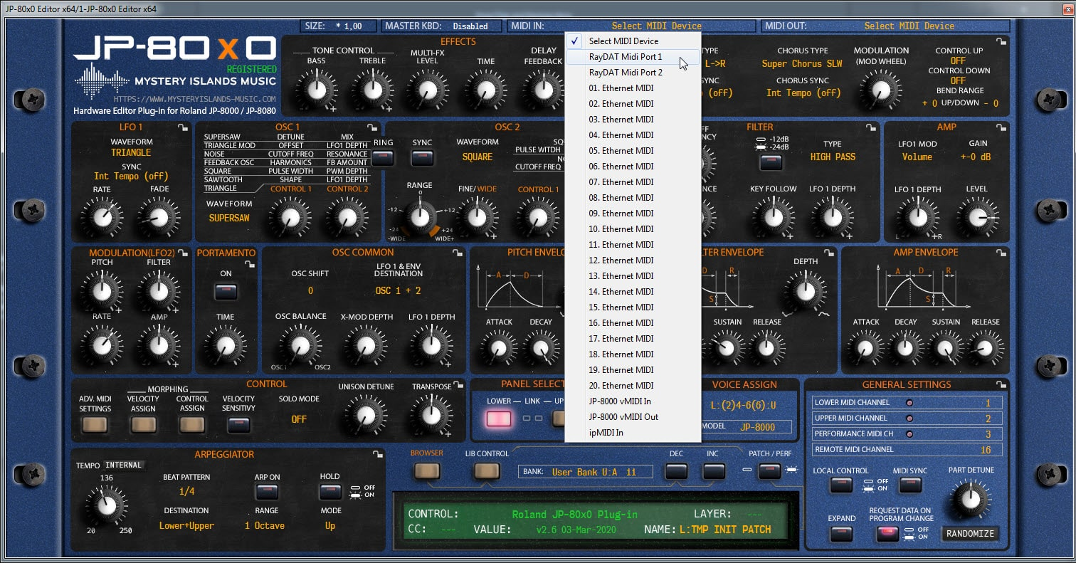Ableton Live Config - Assign Plug-in MIDI Input