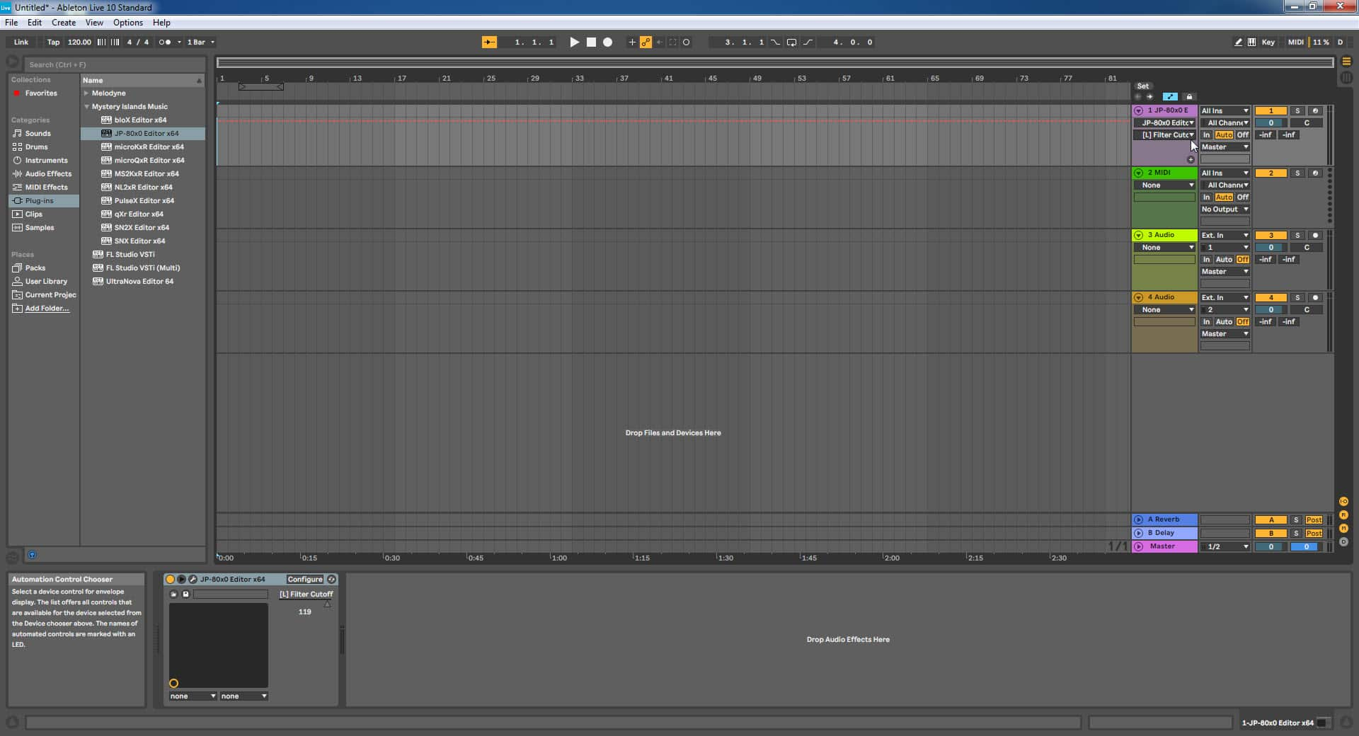 Ableton Live Config - Start Automating