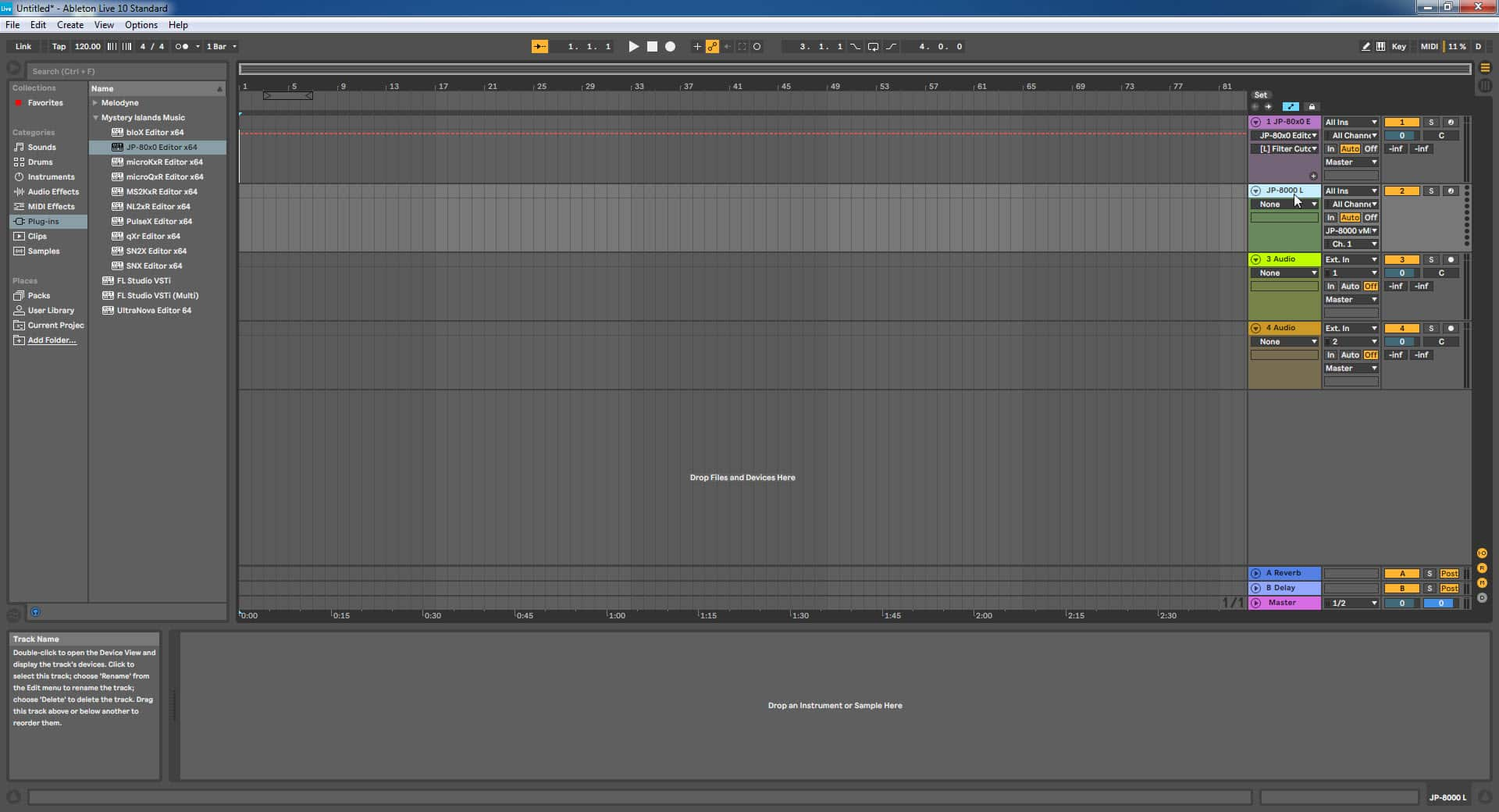 Ableton Live Config - New Name Applied