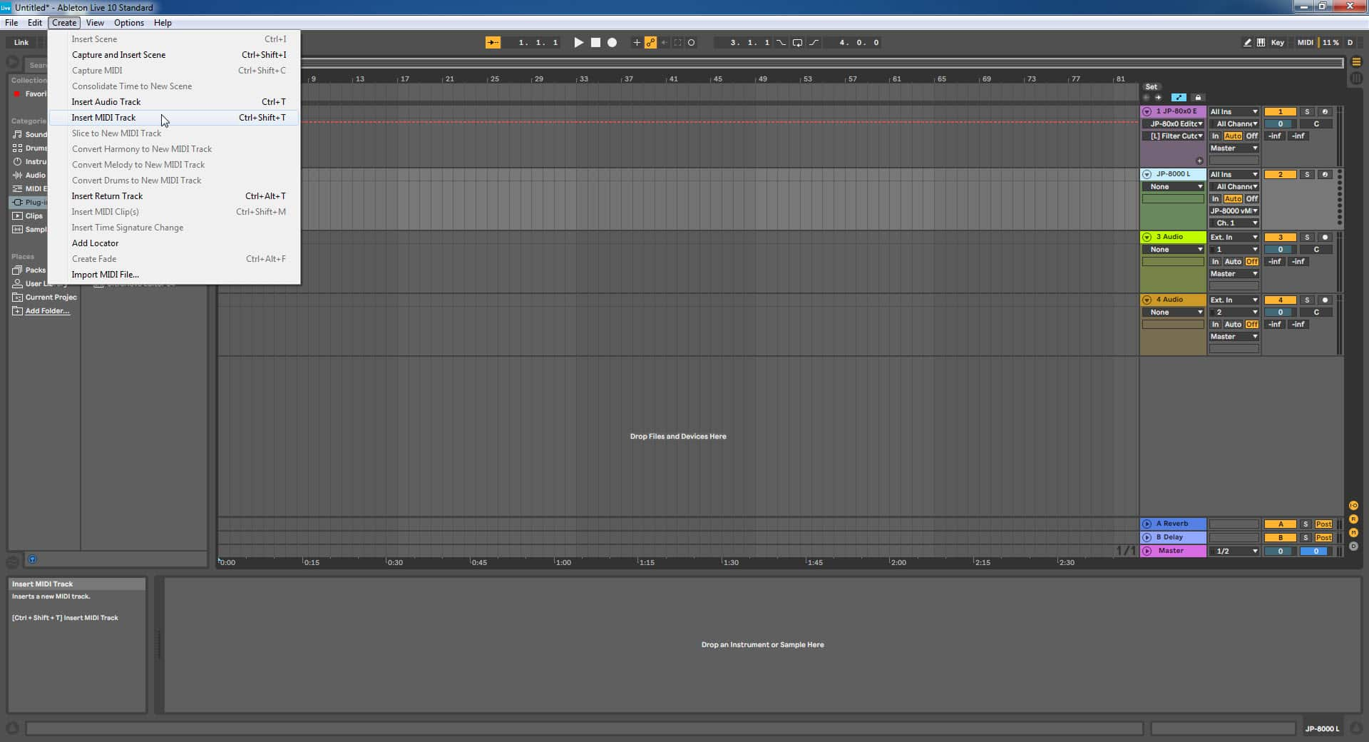 Ableton Live Config - Add More MIDI Channels if Needed