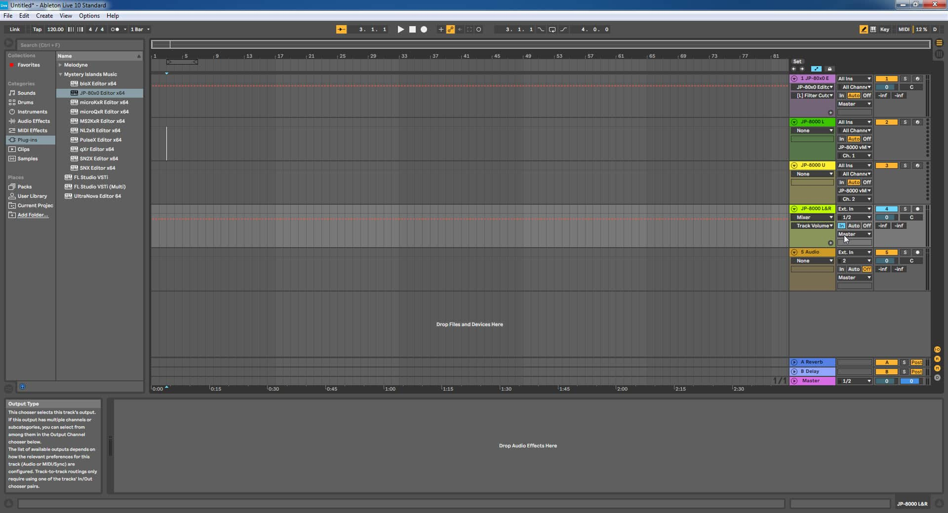 Ableton Live Config - Setting Input Monitoring