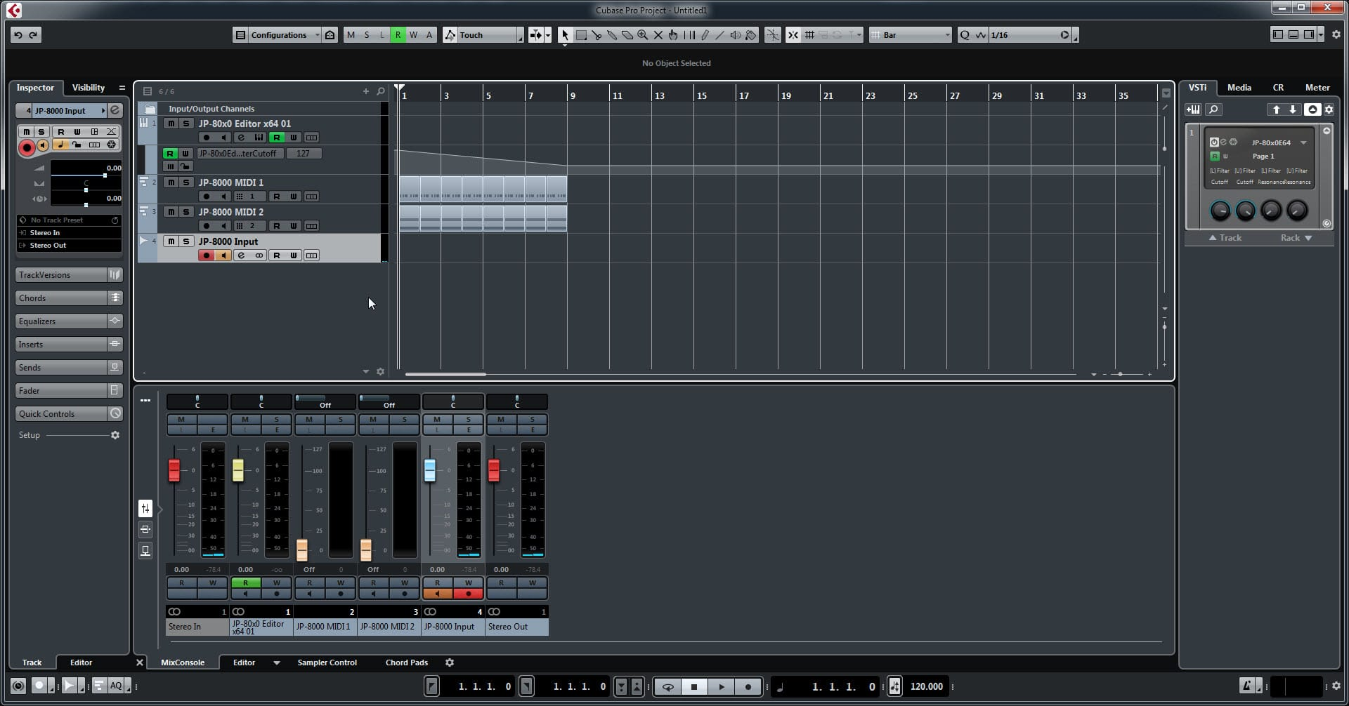Steinberg Cubase Config - Everything Works like well Oiled Machine